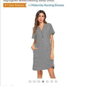 Dresses & Skirts - Nursing/maternity night gown dress
